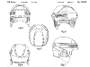 brevet - casque de hockey HH5000 – patent - HH5000 hockey helmet - 2