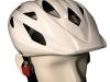 maquette d'un casque de vélo sur une fausse tête - model of a bicycle helmet on a headform
