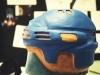 casque de hockey - exploration en terre glaise - hockey helmet - exploration in clay