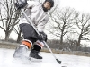 jeune hockeyeur - young hockey player - patinoire extérieure - outdoor rink -casque HH5000 - HH5000 helmet_2
