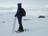 Lucie – essais des raquettes Artica - Gros-Morne, Terre-Neuve – Artica snowshoe testing - Gros-Morne, Newfoundland – 2006